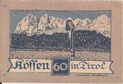 60 Heller (Kössen in Tirol) -  reverse
