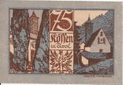 75 Heller (Kössen in Tirol) -  reverse