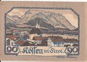 90 Heller (Kössen in Tirol) -  reverse