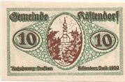 10 Heller (Köstendorf) -  obverse