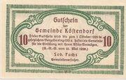 10 Heller (Köstendorf) -  reverse