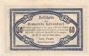 60 Heller (Köstendorf) -  reverse