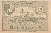 10 Heller (Kollmitzberg) – reverse
