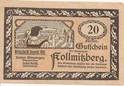 20 Heller (Kollmitzberg) -  obverse