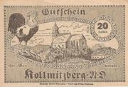 20 Heller (Kollmitzberg) -  reverse