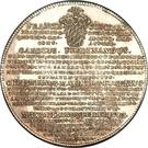 1 Thaler - Karl Ferdinand, Christian Moritz Eugen and Maximilian Friedrich – reverse
