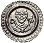 1 Brakteat - Heinrich II. von Klingenberg and Nikolaus von Frauenfeld – obverse