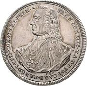 ½ Thaler - Franz Conrad von Rodt – obverse