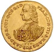 1 Ducat - Franz Conrad von Rodt – obverse