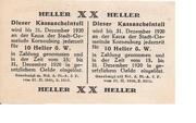 20 Heller (Korneuburg) – reverse