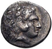 Hemidrachm - Stephanos – obverse