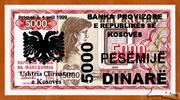 5 000 Dinarë -  obverse