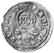 Mezzo Grosso - Štefan Uroš, 1355-1371 (Serbian Empire occupation) – obverse