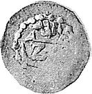 1 Baiza - Abdullah II (date at bottom) – obverse
