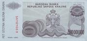 500 000 000 Dinara – reverse