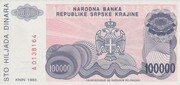 100.000 Dinara – reverse