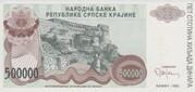 500.000 Dinara – obverse