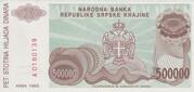 500.000 Dinara – reverse