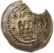 Brakteat - Bolesław V Wstydliwy (Kraków mint) – reverse