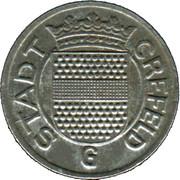 5 Pfennig - Crefeld – obverse