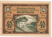 40 Heller (Kreith) -  obverse