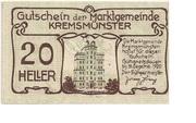 20 Heller (Kremsmünster (Marktgemeinde)) -  reverse