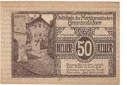 50 Heller (Kremsmünster) -  reverse