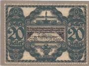 20 Heller (Krieglach) – reverse