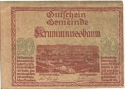 20 Heller (Krummnussbaum). -  obverse