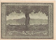 50 Heller (Krummnussbaum) – reverse