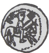 Denar - bishop kujawski Stefan (Włocałwek mint) – obverse