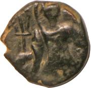 Drachm - Vasudeva I (Kushana Imitative Type) – obverse