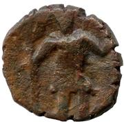 Drachm - Kaniska II (Imitative type) – obverse