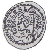 Brakteat - Bolesław kujawski or Leszek mazowiecko-kujawski (Kruszwica or Inowrocław or Płock mint) – obverse