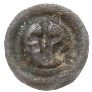 Brakteat - Leszek II Inowrocławski (Inowrocław mint) – reverse