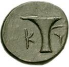Bronze Æ16 – reverse