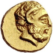 1/10 Stater - Magas – obverse