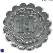 10 Centimes (La Capelle) – reverse