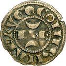 "Denier - Hugues XI de Lusignan dit ""le Brun"" (1249-1260) – obverse"