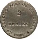 2 Reales – reverse