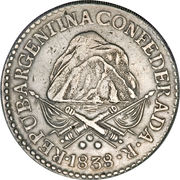 8 Reales – obverse