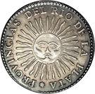 4 Soles (Provincias del Rio de la Plata) – reverse