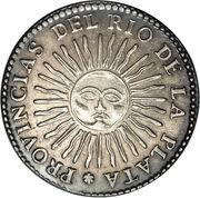 4 Soles (Provincias del Rio de la Plata) -  reverse