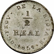 ½ Real -  obverse