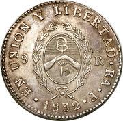 8 Reales (Provincias del Rio de la Plata) – reverse