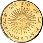 8 Escudos (Provincias del Rio de la Plata) – obverse