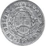 1 Real (Provincias del Rio de la Plata) – reverse