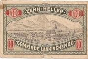 10 Heller (Laakirchen) -  reverse