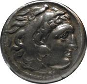 Drachm - Alexander III – obverse