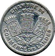 10 Centimes (Landes) – obverse